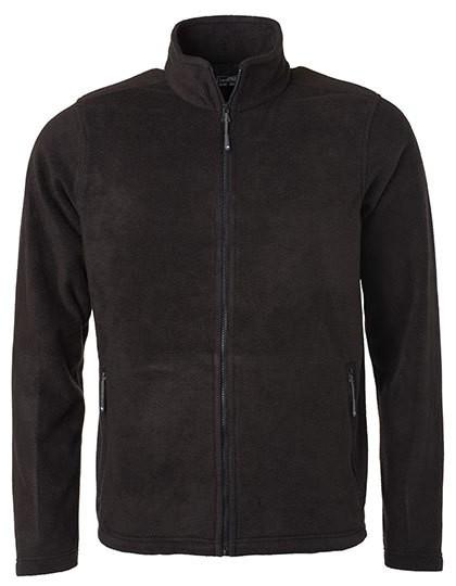 JN782 James+Nicholson Men´s Fleece Jacket